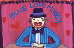 Blue Love Monkey