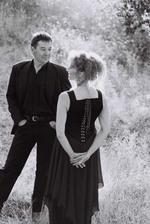 Darrel Delaronde and Saskia