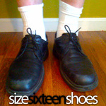 Size Sixteen Shoes